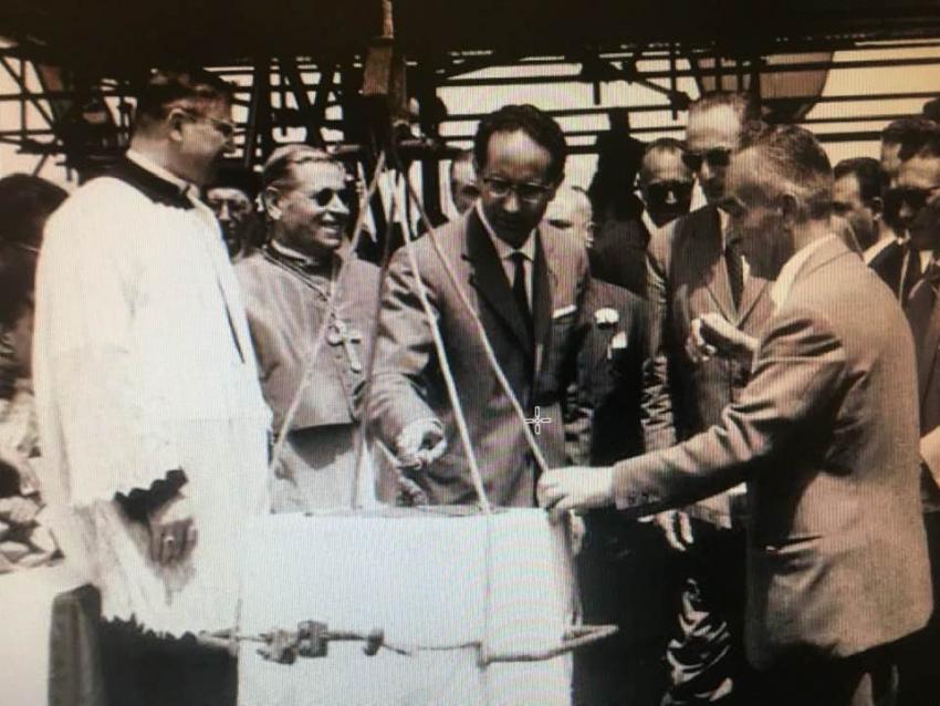Sessant'anni fa con l'ANIC partiva lo sviluppo industriale della Valbasento