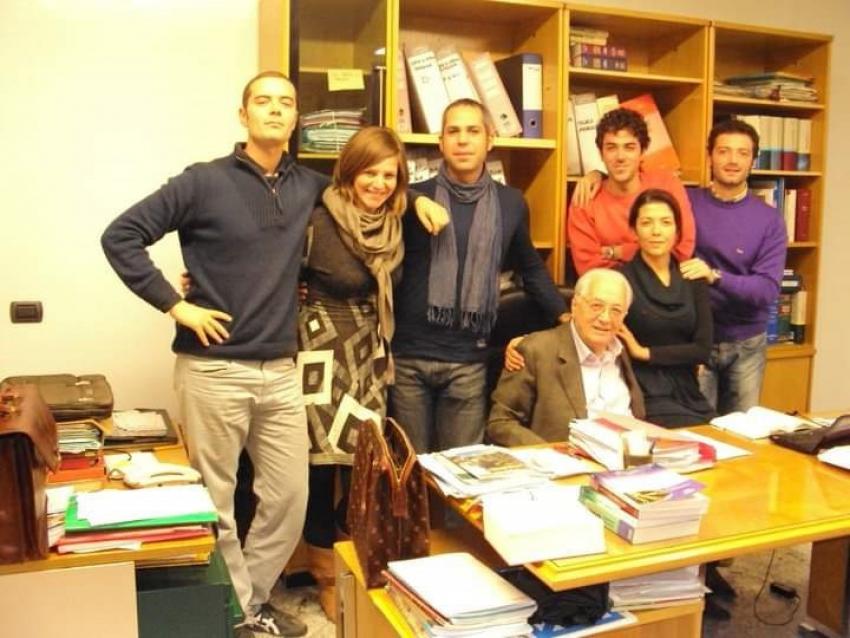 Leonardo Galeazzo ricorda l'avvocato Antonio D'Angella