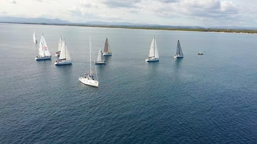Conclusa la prima regata del X Campionato Invernale di vela del mar Jonio