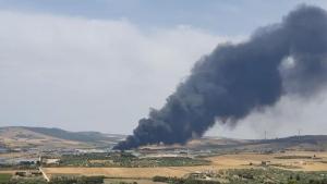 Incendio nella discarica di La Martella, sindaco invita cittadini a precauzioni