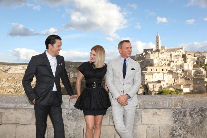 007 - NO TIME TO DIE, a Matera proiezione speciale in anteprima nazionale