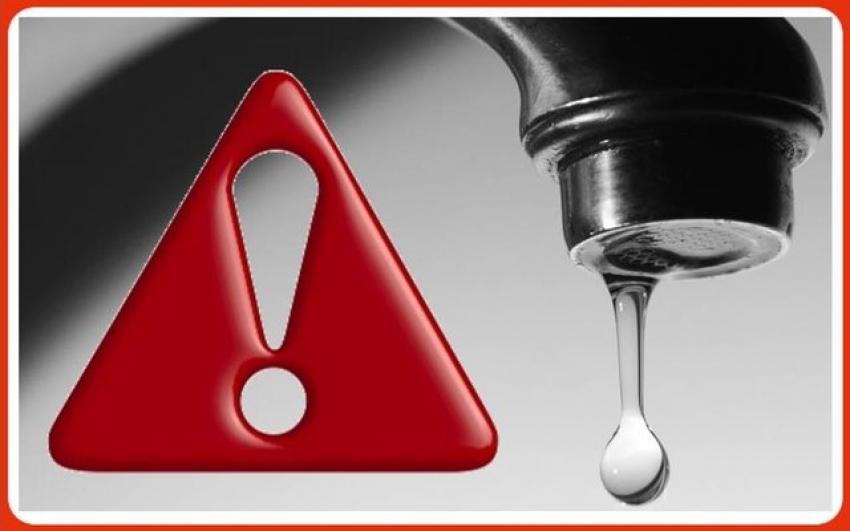Dalle 14:00 di oggi 14 giugno interruzione idrica