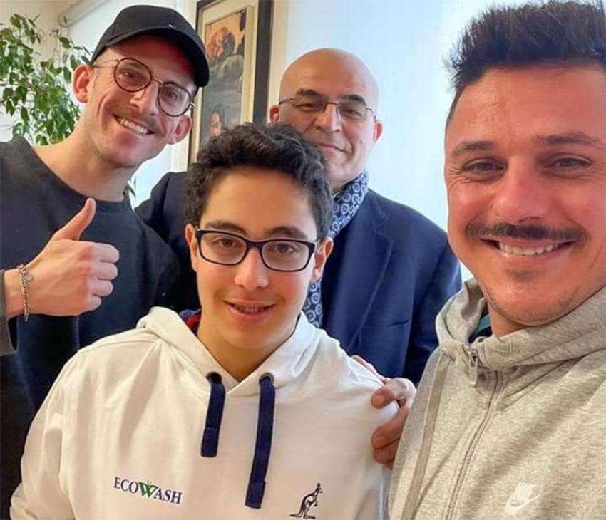 Tennis: nato il sodalizio sportivo Paolo Vito Domenico Laviola - Ecowash