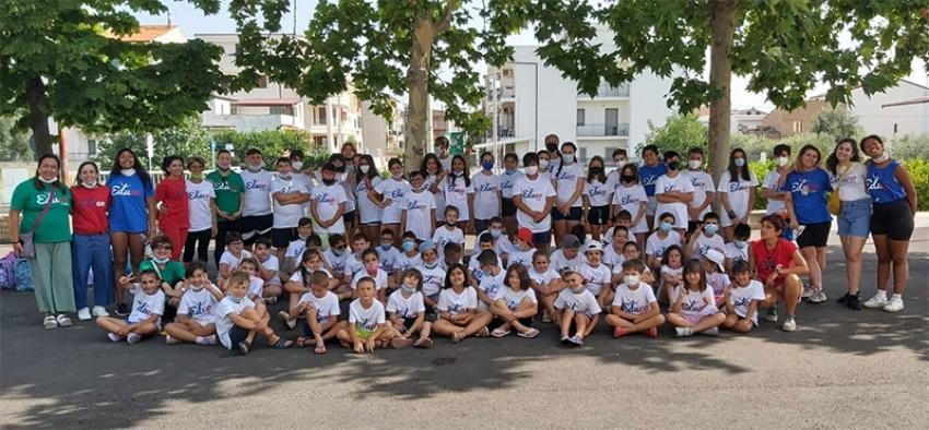 """Grande successo per l'English Summer Camp dell'I.C. """"Flacco"""" di Marconia"""