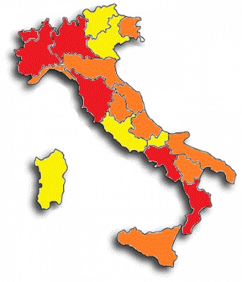 Basilicata ancora zona arancione, mentre il TAR esaminerà il 2 dicembre il ricorso presentato contro chiusura delle scuole