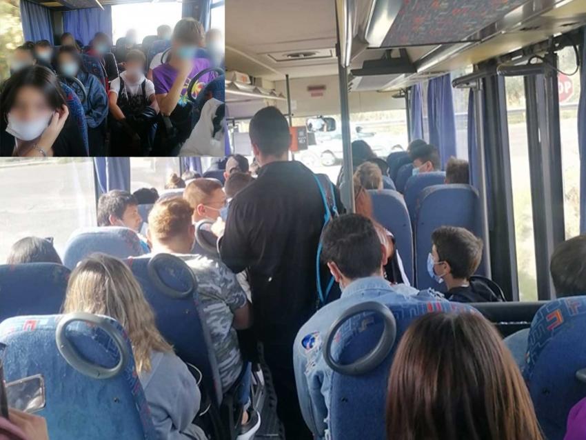 Gli studenti denunciano il mancato rispetto delle misure di sicurezza per il contrasto del Covid-19 nei trasporti pubblici