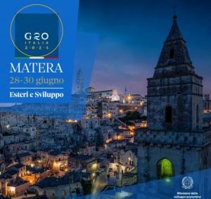 500 delegati e 150 giornalisti per il G20 a Matera