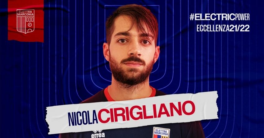 Nicola Cirigliano, ex Roccella e Grumentum, firma con l'Elettra