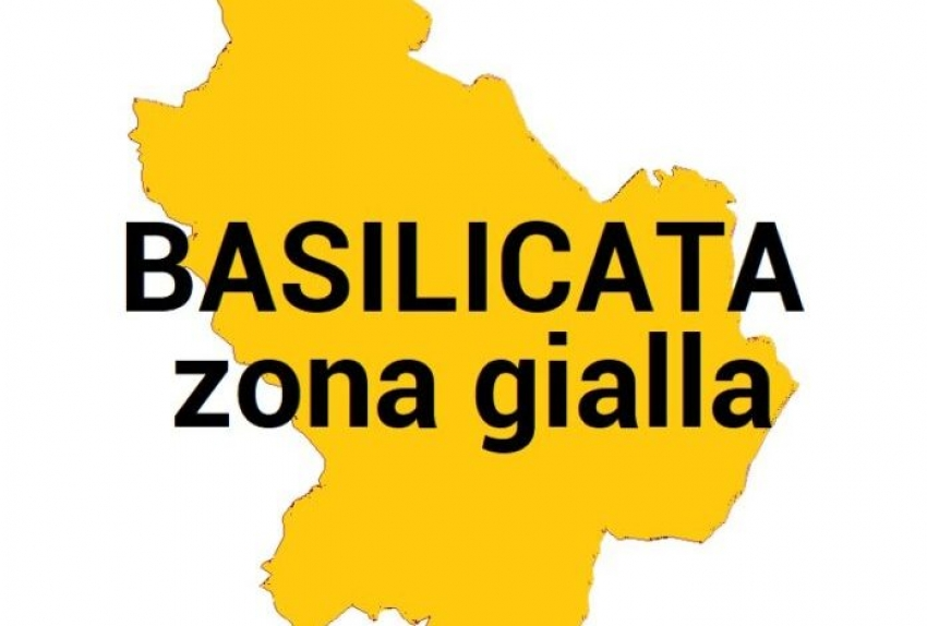 La Basilicata torna finalmente in zona gialla. Ecco cosa cambierà