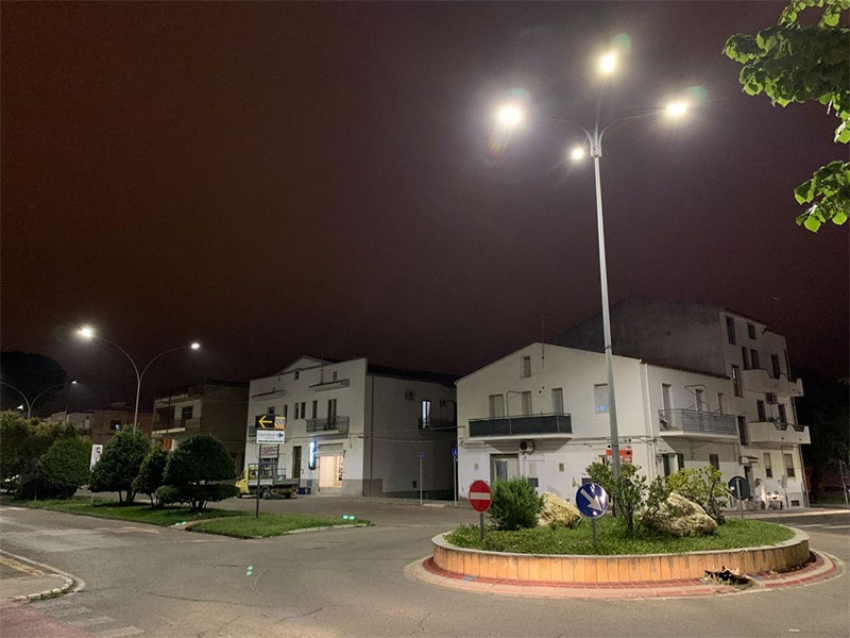A Marconia in via di sostituzione le vecchie lampade dell'illuminazione pubblica