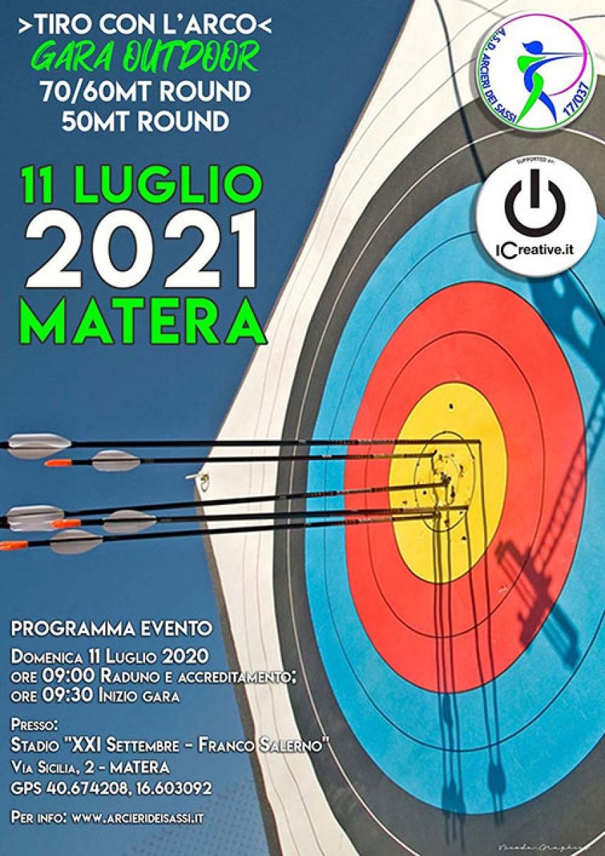 A Matera gara interregionale di tiro con l'arco
