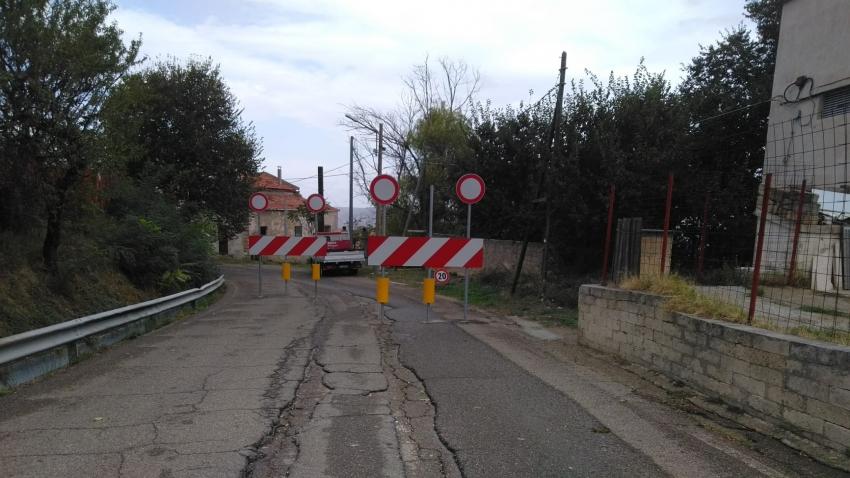 Dopo 3 mesi dalla frana progetto per un milione di euro per il ripristino della vecchia strada Pisticci-Pozzitello