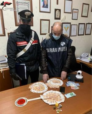 A Marconia i Carabinieri arrestano donna 65enne che spacciava a casa