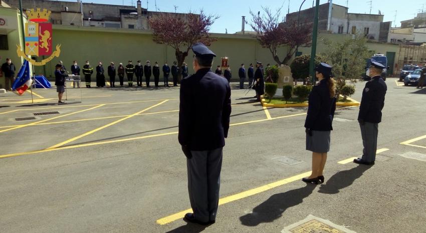 Celebrato a Matera il 169° anniversario della fondazione della Polizia