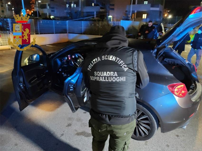 Furto in abitazione a Matera, Polizia denuncia 4 giovani residenti a Bari