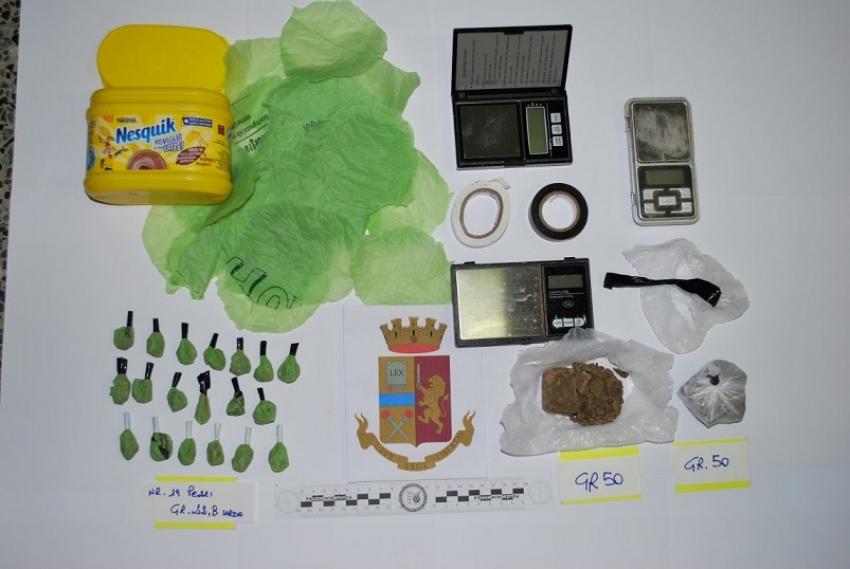 La Polizia sequestra 123 grammi di eroina. Due donne in arresto