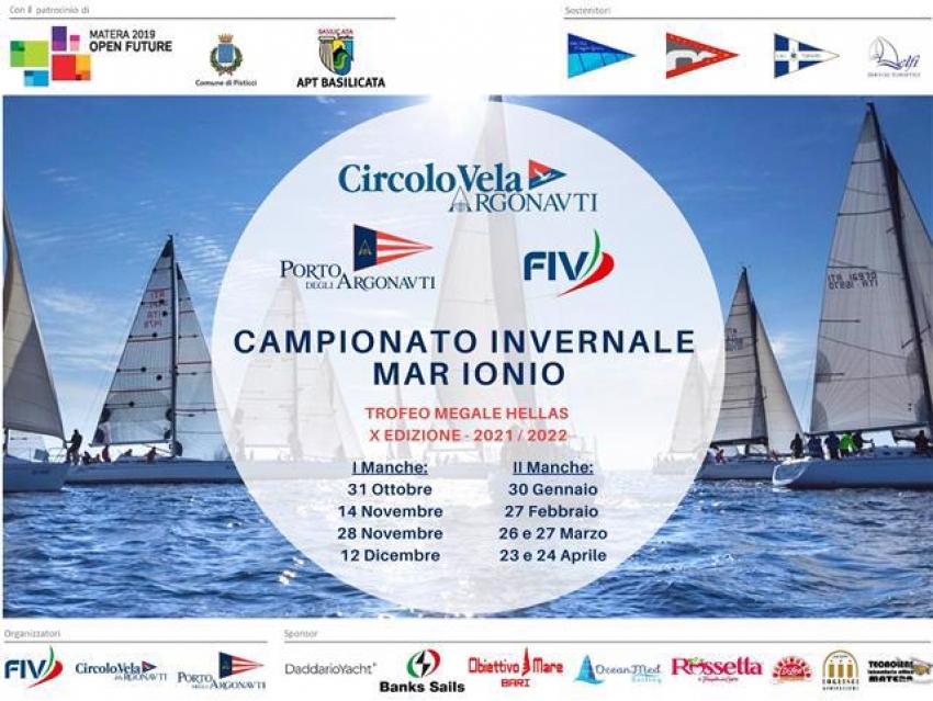 Vela: riparte il Campionato Invernale mar Ionio