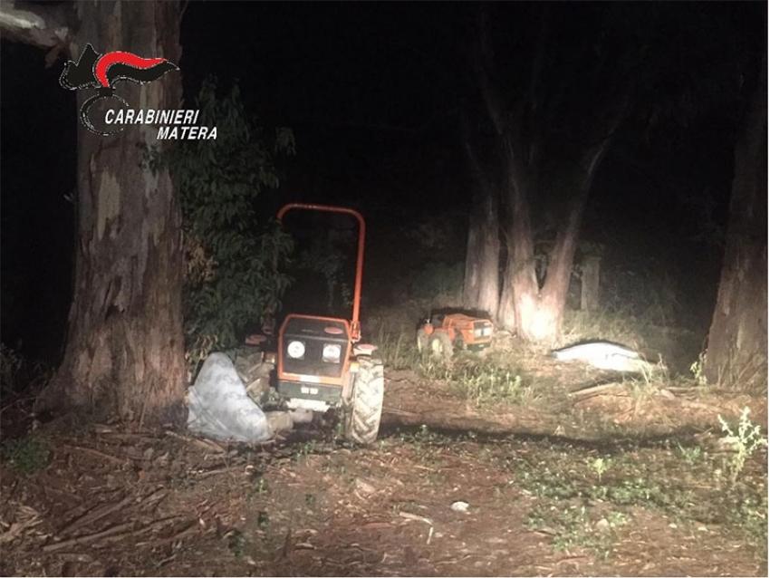 Ritrovati dai Carabinieri due trattori rubati ad inizio ottobre