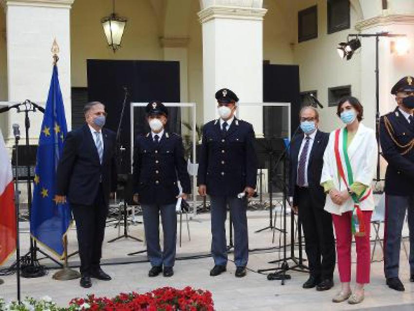 Conferite due onorificenze ad agenti del Commissariato di Polizia di Pisticci