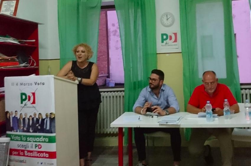 Antonella Giasi lascia la segreteria del Partito Democratico Pisticci e Marconia