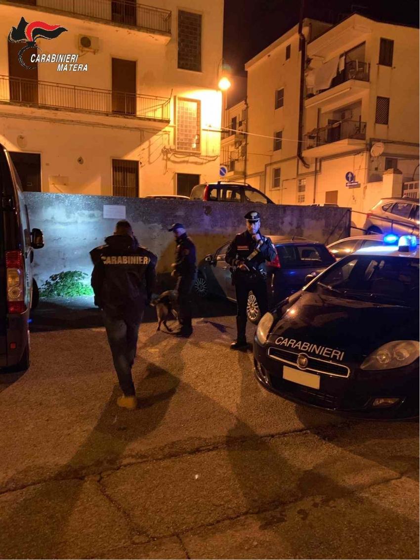 Pisticci: controlli dei carabinieri nei primi giorni di agosto. Denunciate 2 persone
