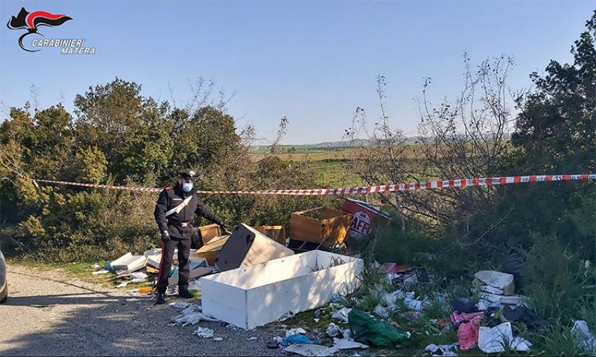 Lotta all'abbandono indiscriminato dei rifiuti. Continuano i controlli dei Carabinieri