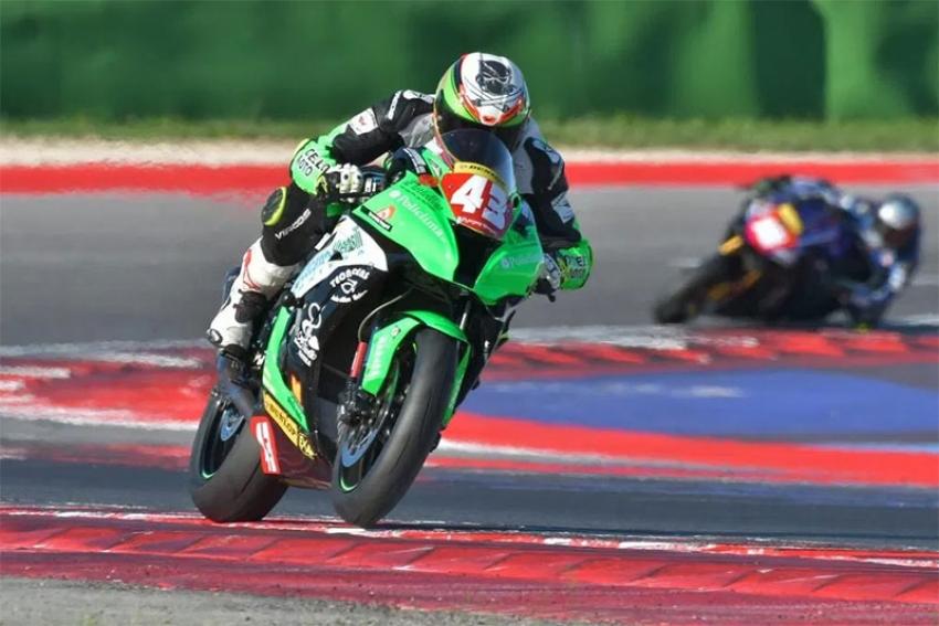"""Motociclismo: esordio vincente al Mugello per il pilota Raffaele Rubino alla """"Metzeler Superior Cup"""""""