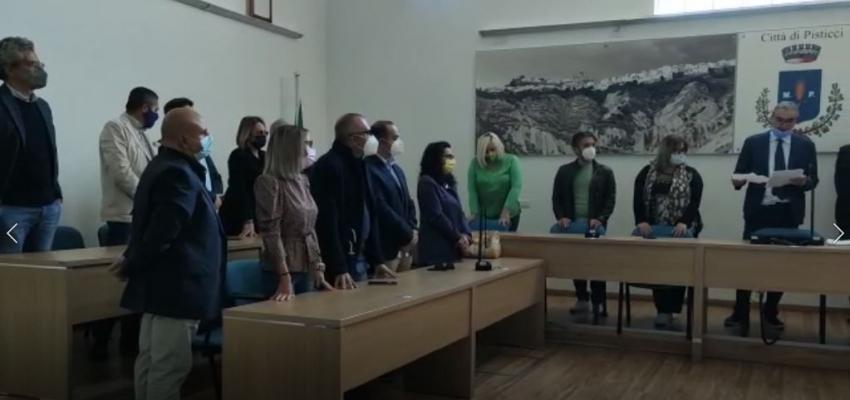Proclamati i nuovi consiglieri comunali della città di Pisticci. Il video