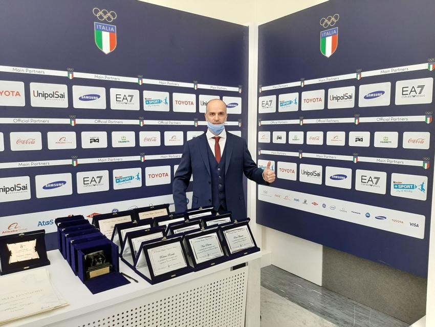 Lucio Schiuma vince il prestigioso Premio Coni