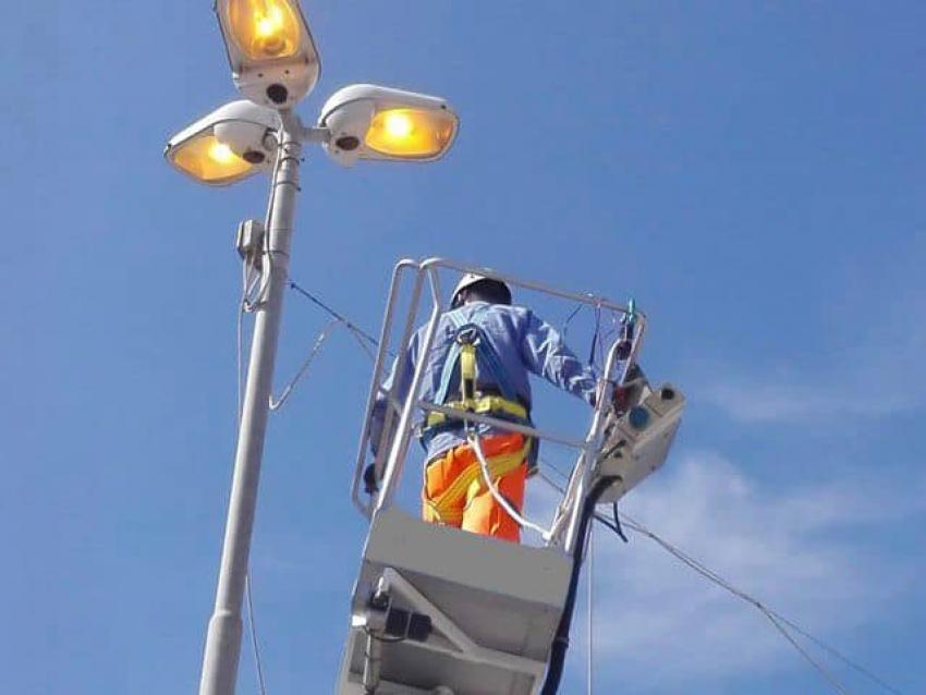 Lampade a led per l'efficientamento energetico. Al via i lavori a Pisticci