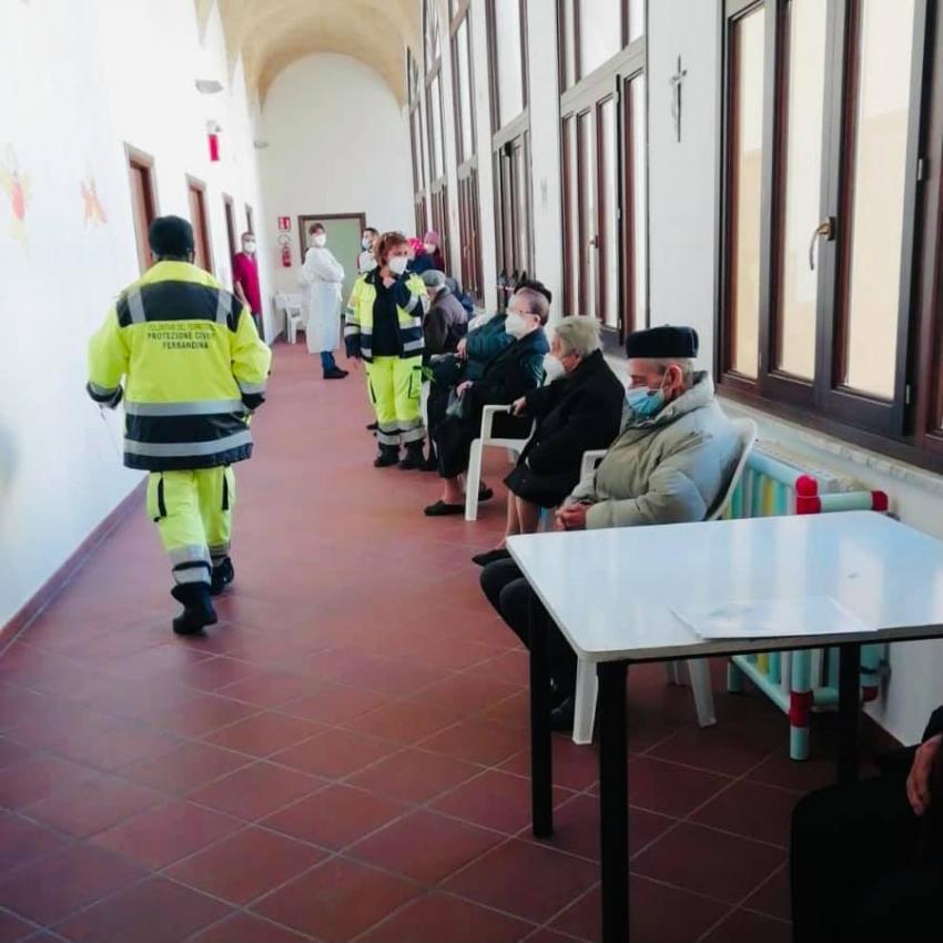 Iniziata a Ferrandina la campagna vaccinale per gli over 80