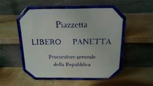 Venerdì 24 settembre intitolazione della piazzetta belvedere del rione Terravecchia a Libero Panetta