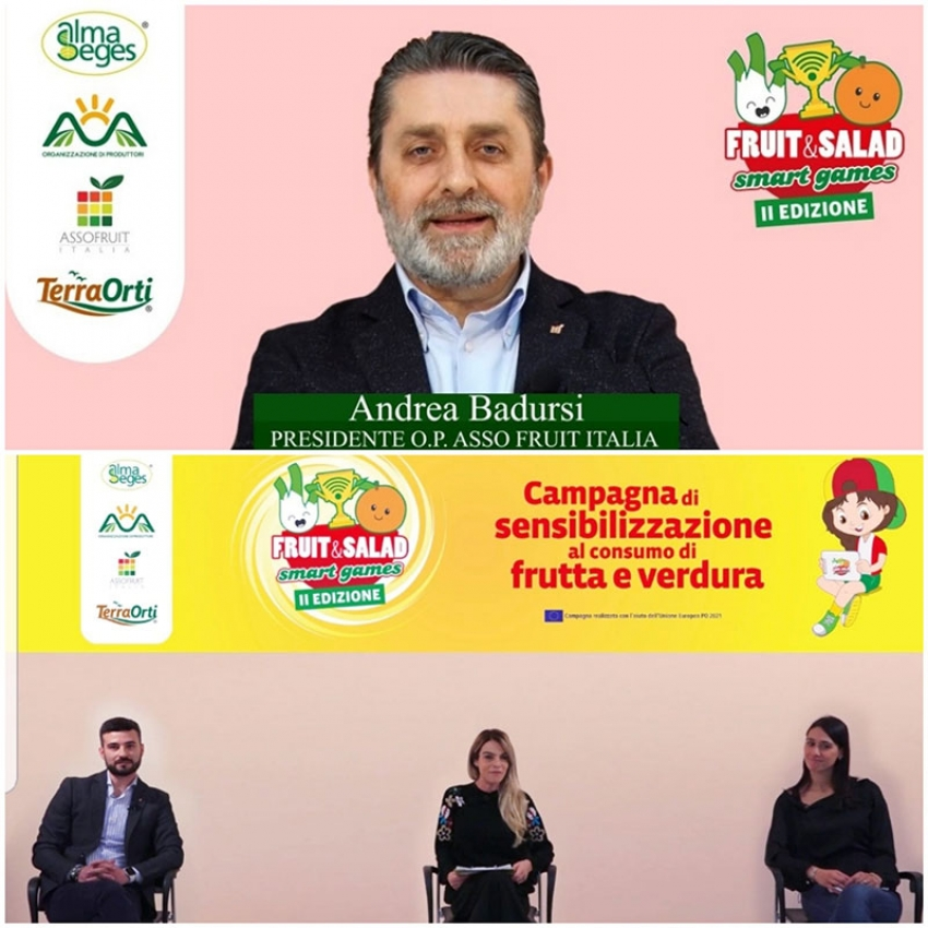 Andrea Badursi a 'Fruit and Salad Smart Games' parla della fragola