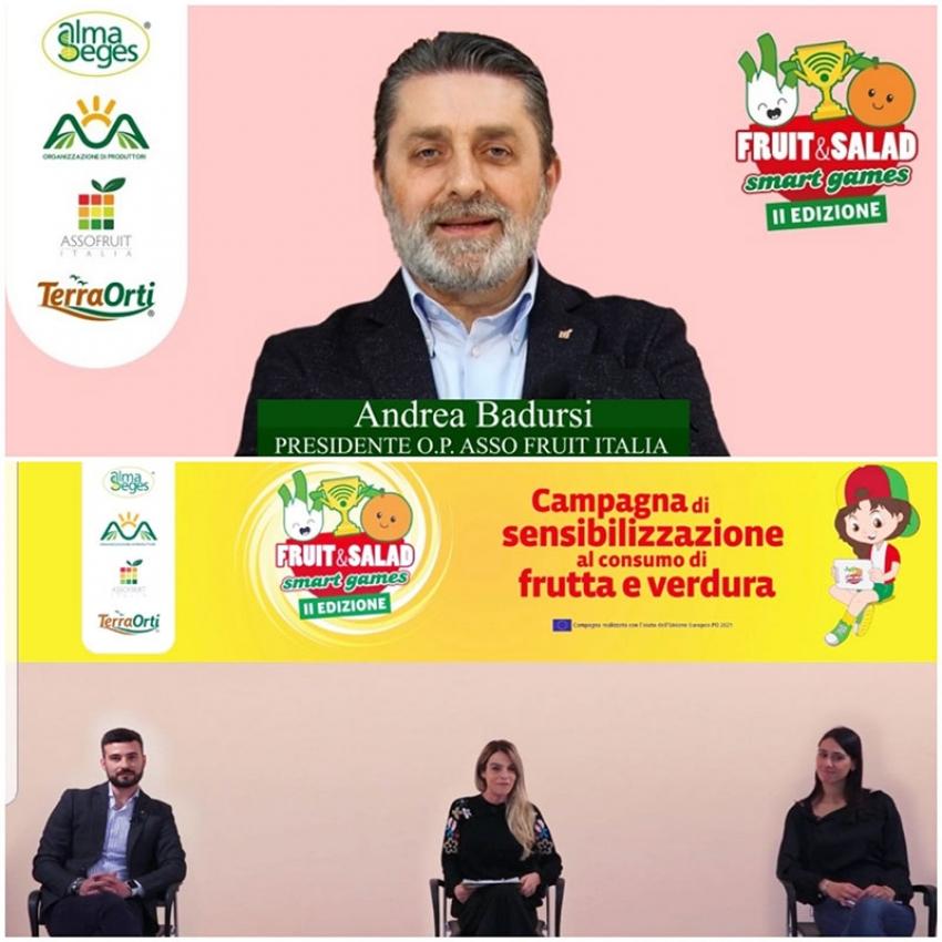 Andrea Badursi a 'Fruit and Salad Smart Games' parla della fragola