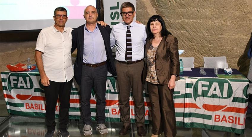 Giuseppe Romano eletto nuovo segretario generale Fai Cisl Basilicata