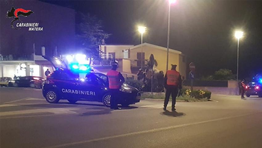 Intensificati i servizi notturni di controllo del territorio da parte dei Carabinieri