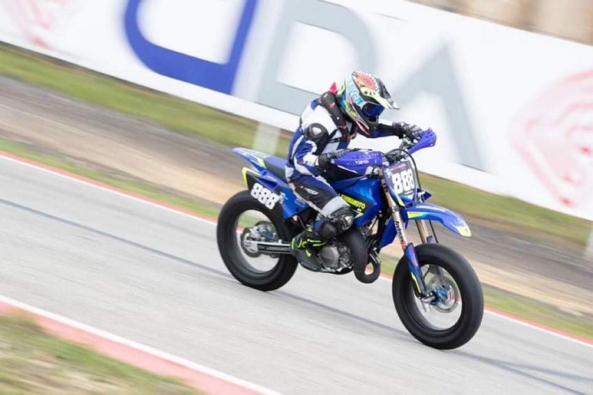 Luca Sigismondo, giovanissima promessa pisticcese del motociclismo, conquista il 3° posto ad Ortona
