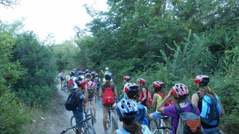 In bike alla scoperta dell'ultima foresta incantata