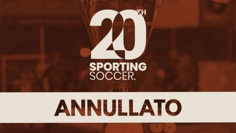 Sporting Soccer: causa Covid-19 annullata per il secondo anno la 20esima edizione